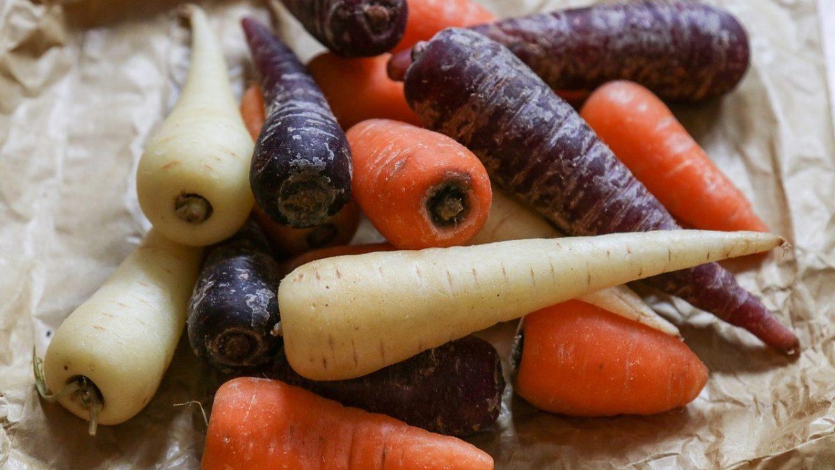 La couleur des carottes, c'est important
