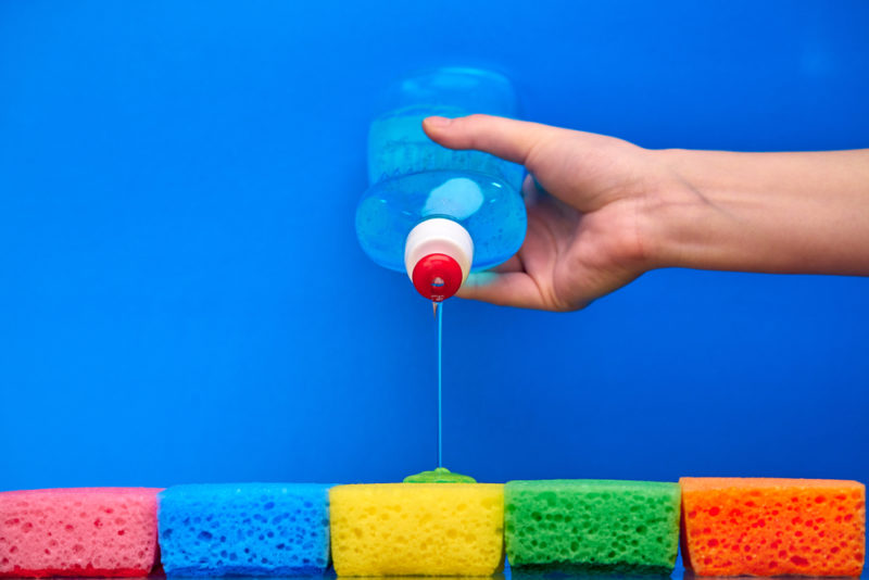 Faire la vaisselle… avec quel produit ?