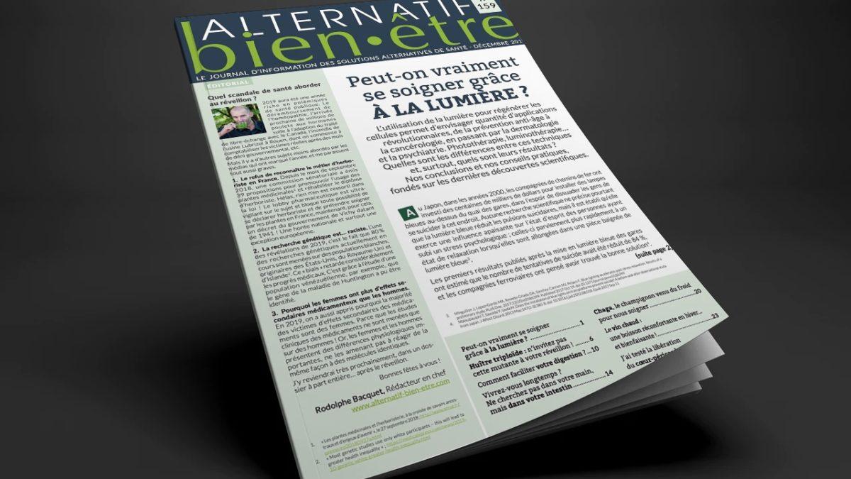 Alternatif Bien-Être n° 159 : Numéro du mois de décembre