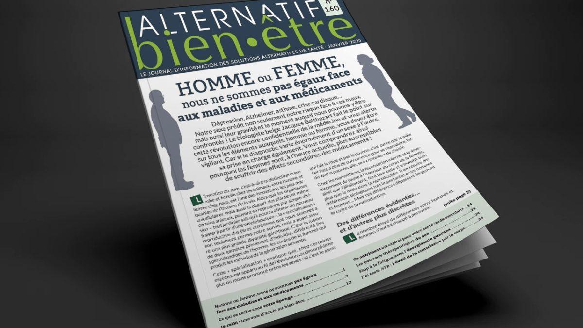 Alternatif Bien-Être n° 160 : votre numéro du mois de janvier
