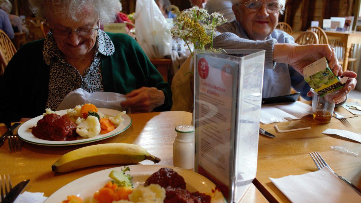 L'alimentation des plus de 65 ans